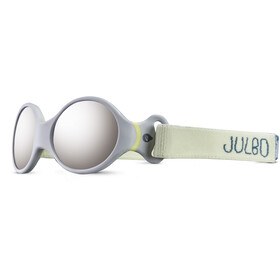 Julbo Loop S Spectron 4 Zonnebril Kinderen, grey/yellow/grey flash silver